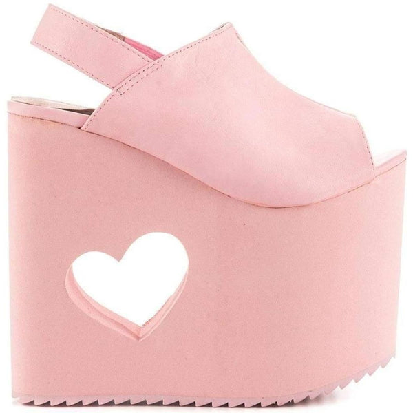 Yru Women'S BB Pink Wedge-Salemonster