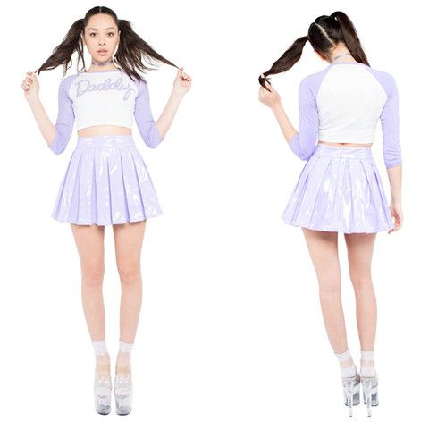 24 Hrs Lavender Princess Skirt