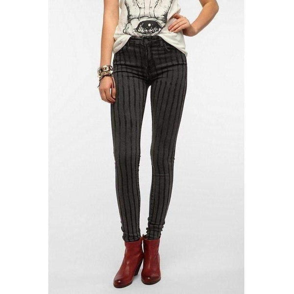 Kill City Ladies Grand Illusion Overdyed Hi Wire Skinny Fit Jeans.-Salemonster