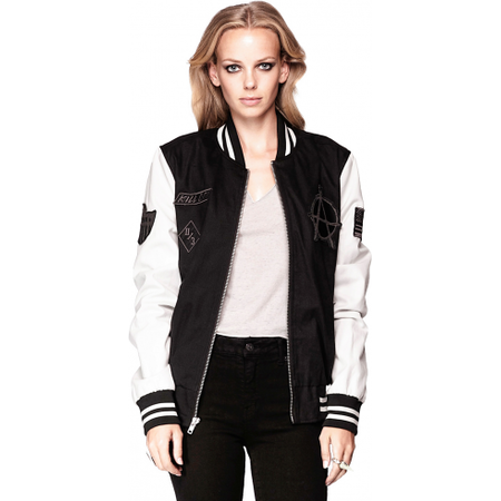 Kill City Varsity Racer Unisex Jacket - Salemonster