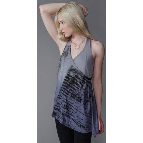 Kill City Ladies Relaxed Fit Tank Wrap