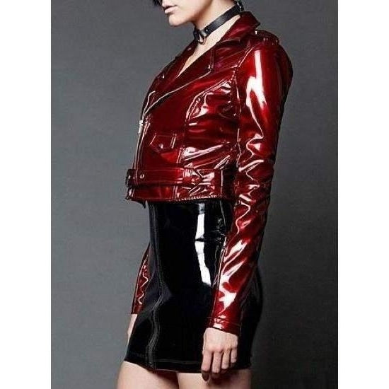 LIP SERVICE CANDY APPLE MOTO JACKET - Salemonster