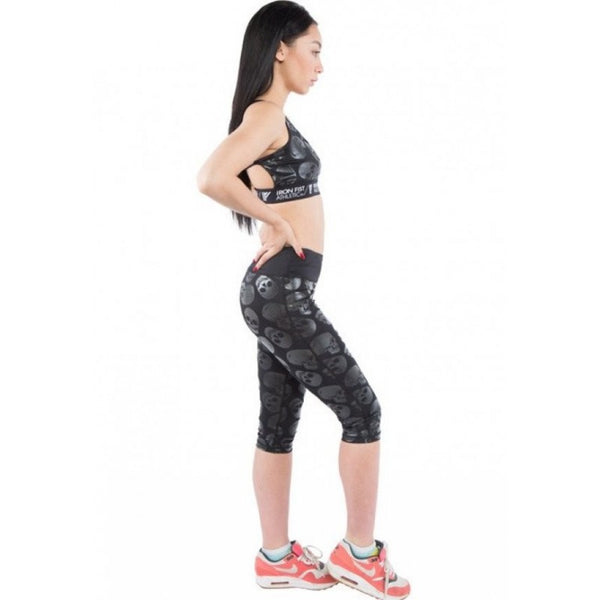 Iron Fist Athletic Skulz Club Ladies Leggings