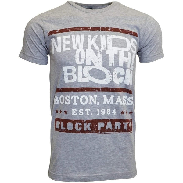 NEW KIDS ON THE BLOCK MEN T SHIRT