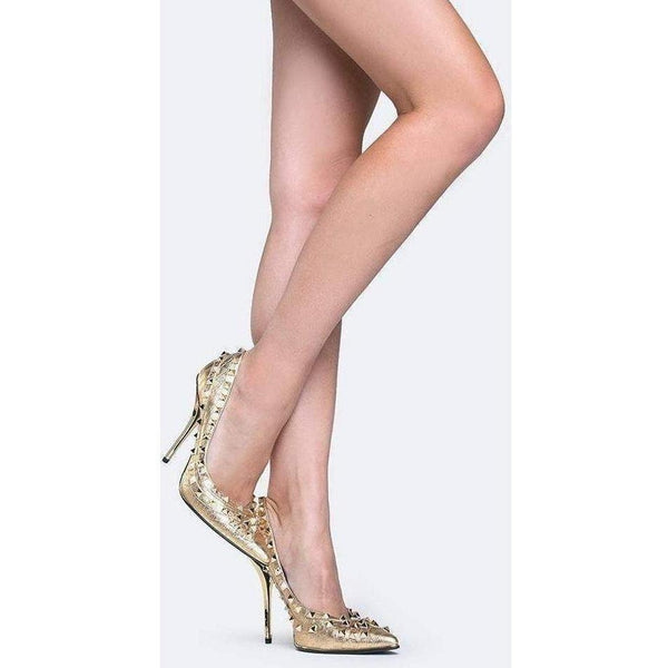 Privileged Phoenix Pump - Gold-Salemonster
