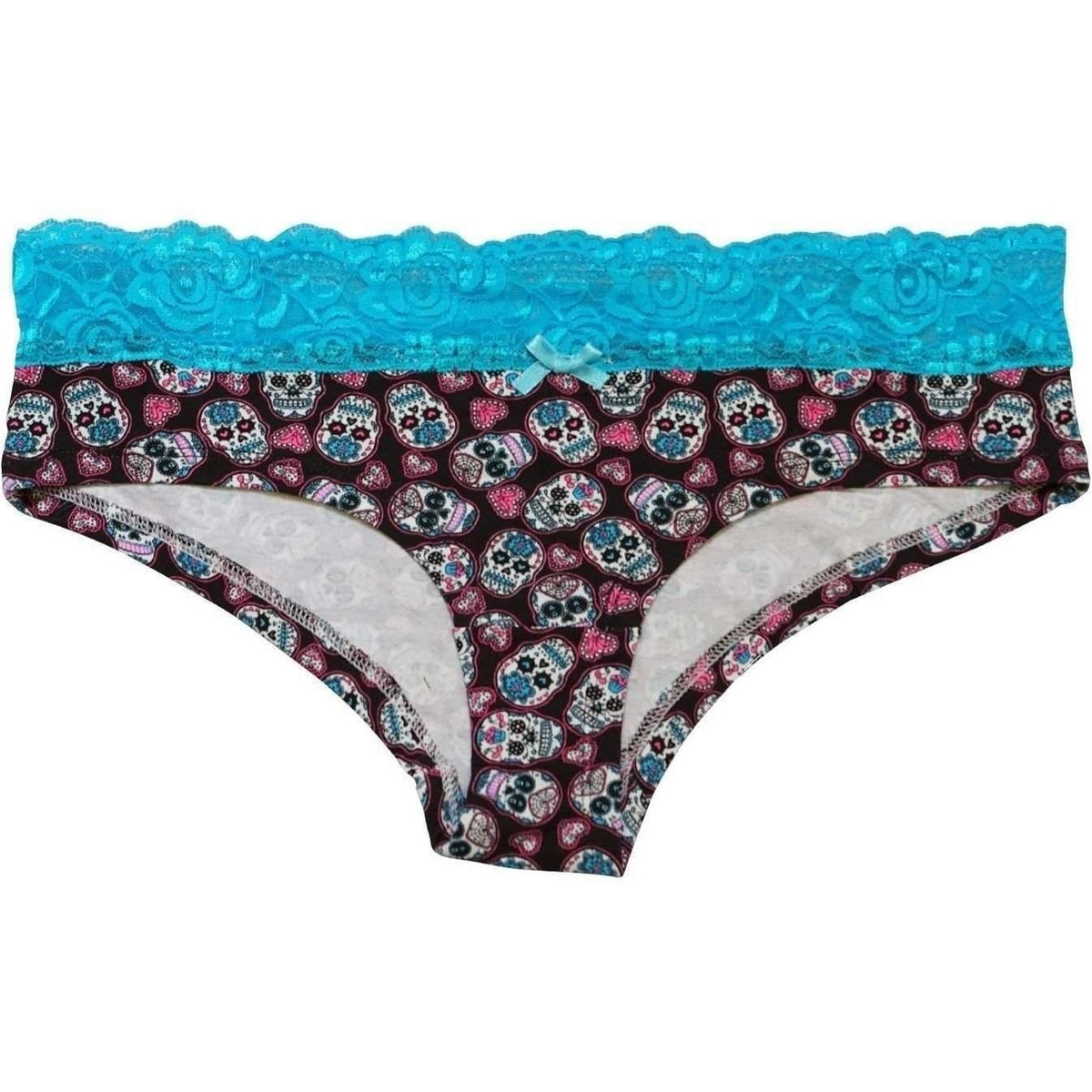 TOO FAST SET OF THREE SKULLY PANTIES