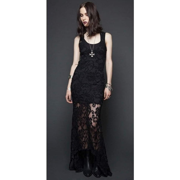 LIP SERVICE CROCHET LACE MAXI DRESS