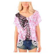 Iron Fist Kutna Crop Blouse
