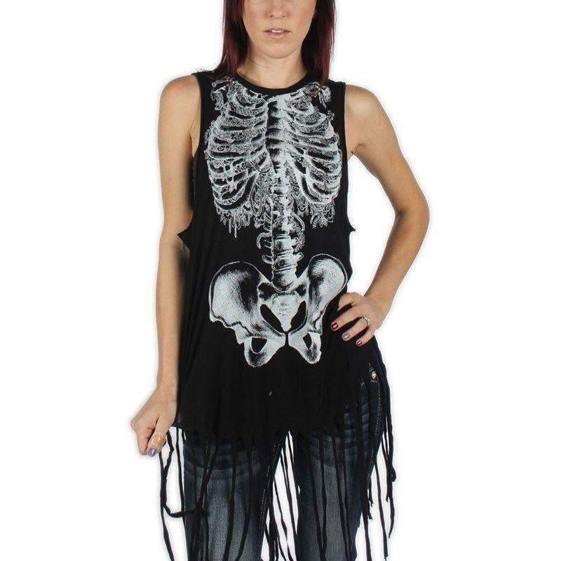 IRON FIST CREEPERS MUSCLE FRINGE TANK