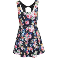 IRON FIST FLORAL BOW BACK  DRESS