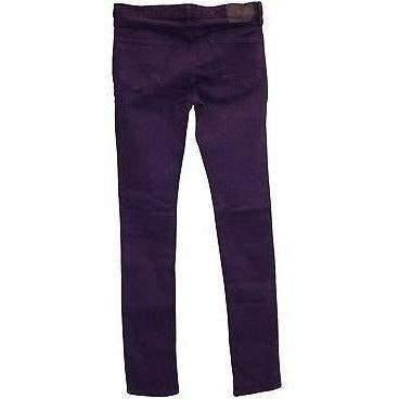 KILL CITY LADIES JUNKIE FT DISTRESS WASH PURPLE JEANS SUPER SLIM