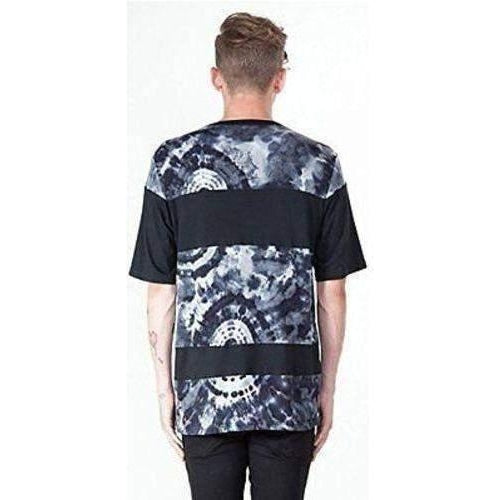 KILL CITY T SHIRT HERMOSA PATTERN BLOCKED TIE DYE MEN TEE