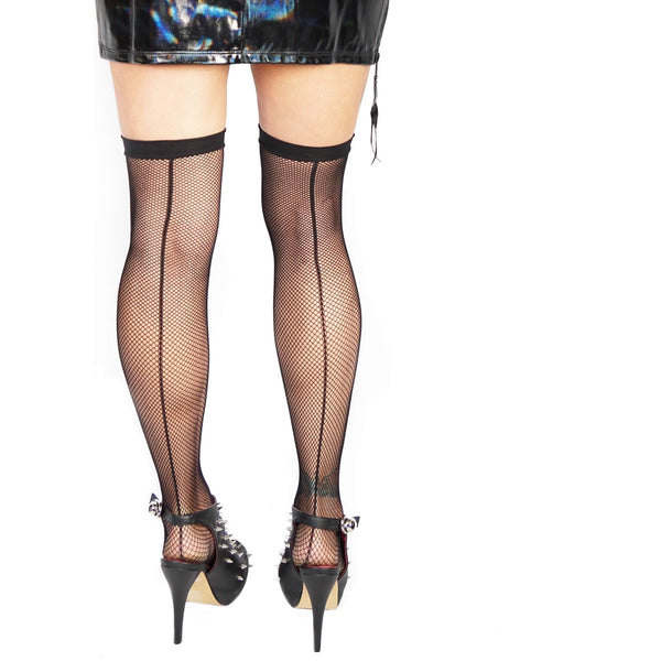 LIP SERVICE FISHNET TIGHTS - Salemonster