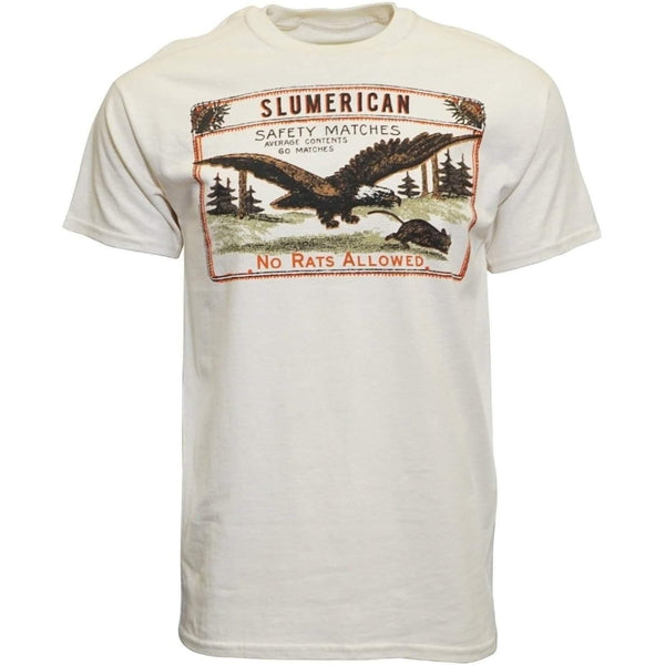 SLUMERICAN MEN T SHIRT