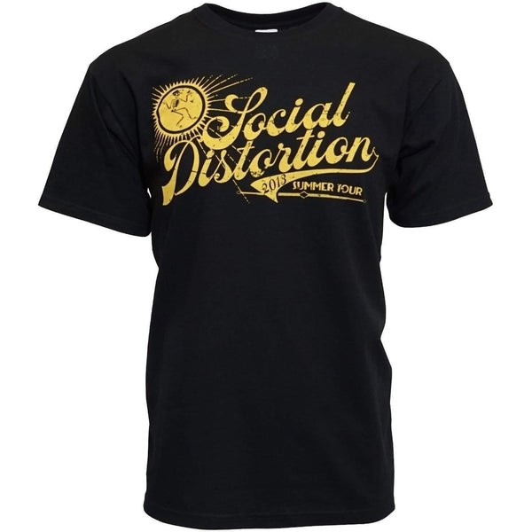 SOCIAL DISTORTION CLASSIC SUMMER TOUR T SHIRT