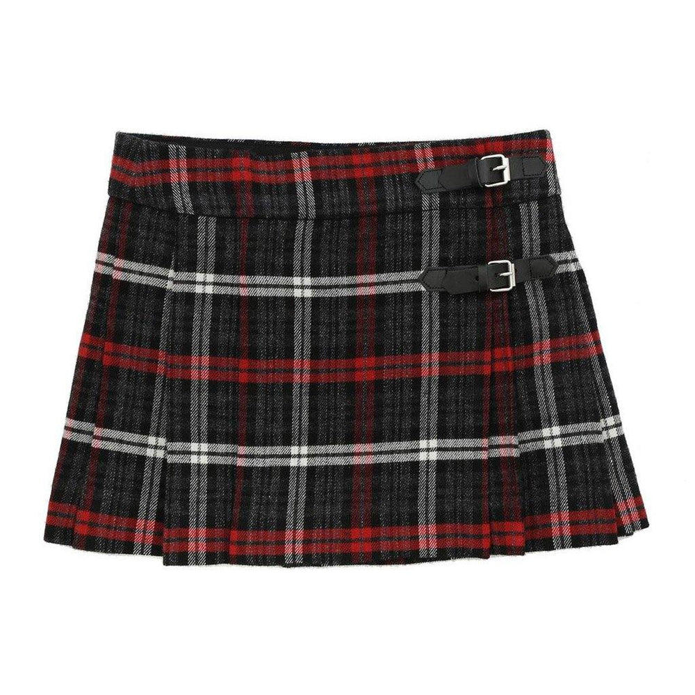 Folk Skirt - Dark Grey