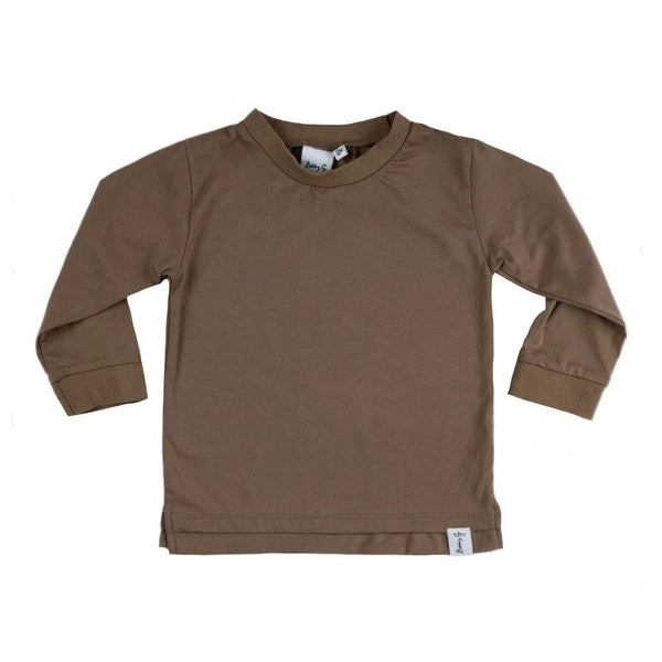 Long Sleeve Tee - Mud - Tim and Gerry's Sydney