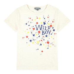 """Wild Boy"" Tee - Ecru - Tim and Gerry's Sydney"