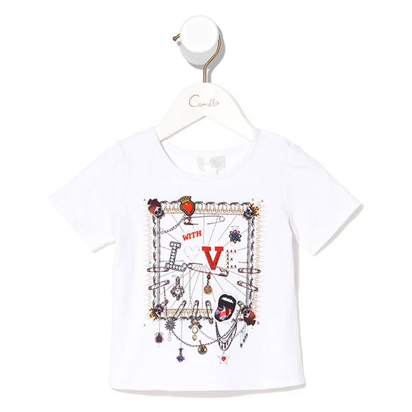 Babies Short Sleeve Tee - London Calling