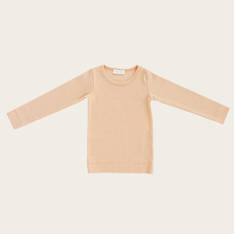 Charlie Top - Apricot Stripe