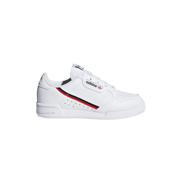 Youth Continental 80 Shoes - Cloud White / Scarlet / Collegiate Navy