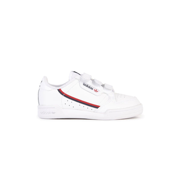 Youth Continental 80 Shoes - Cloud White / Cloud White / Scarlet