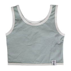 Crop Top - Sea Foam Blue