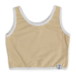 Crop Top - Stripey Lemon-ade