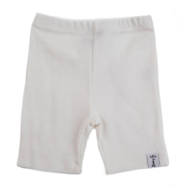 Cycle Shorts - White