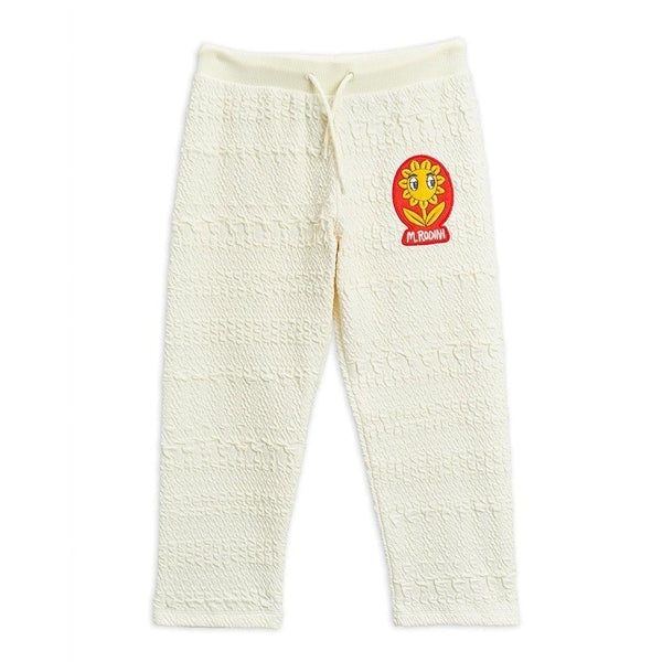 Flower Patch Sweatpants - Off White - Tim and Gerry's Sydney