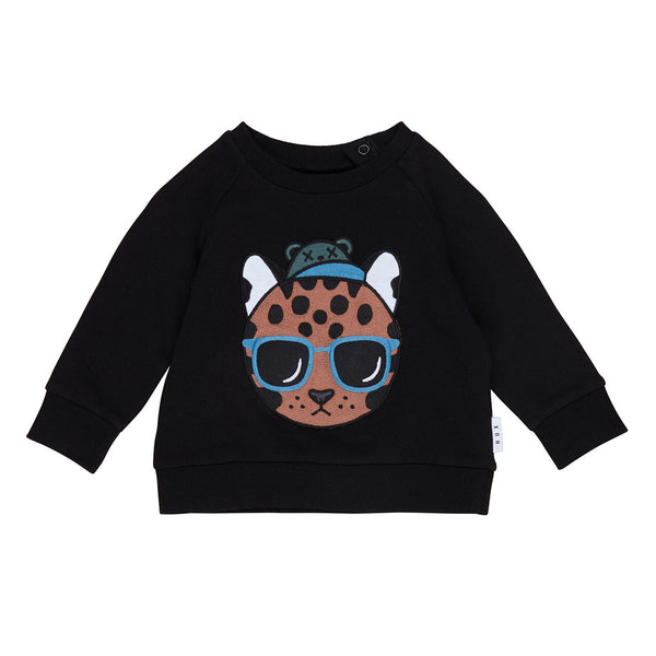 Cool Ocelot Sweatshirt - Black