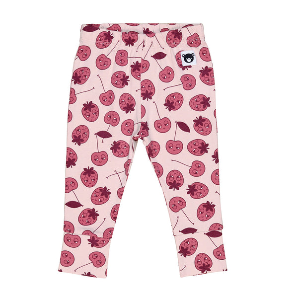 Berry Leggings - Rose