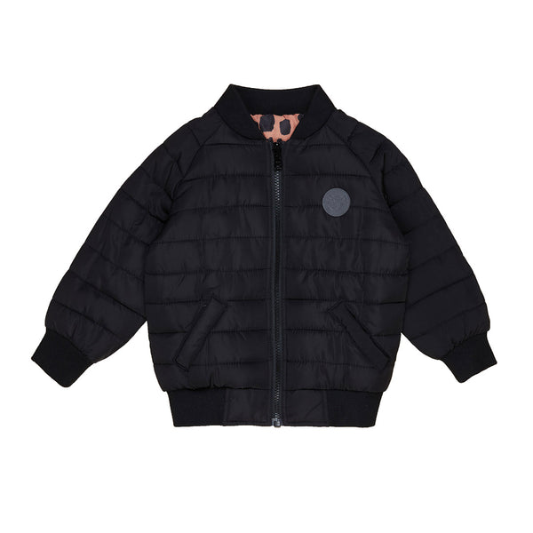 Ocelot Reversible Bomber - Terracotta/Black