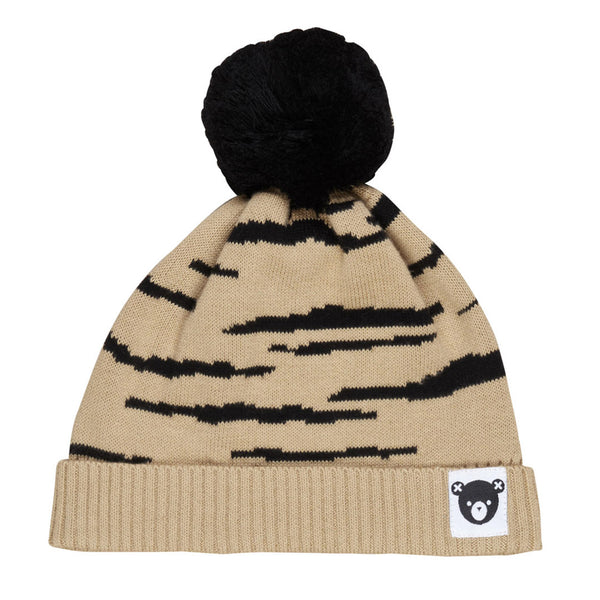 Honey Wildcat Knit Beanie - Honey