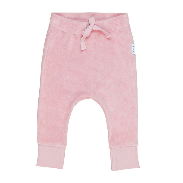 Rose Terry Play Pant - Rose