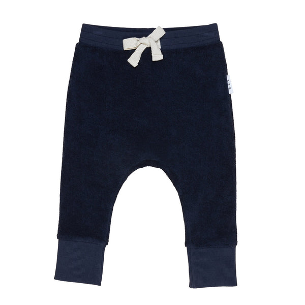 Terry Play Pant - Midnight