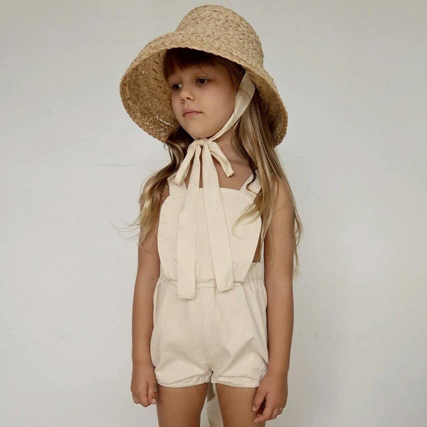 Anais Playsuit - Naturel Ecru