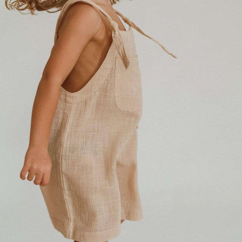 Short Marlow Overalls - Peachy - Tim and Gerry's Sydney