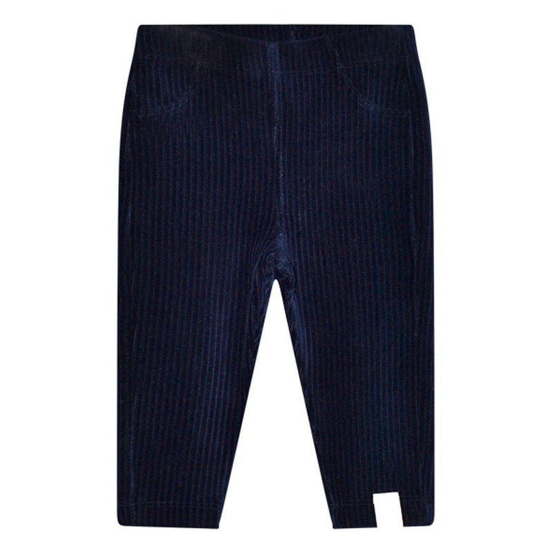 Hazel Baby Rib Pants - Dark Blue - Tim and Gerry's Sydney