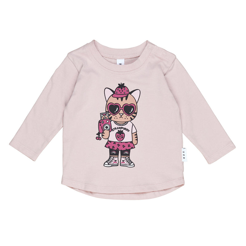Strawpurry Top - Rose