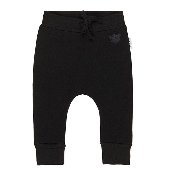 Black Drop Crotch Pant - Black - Tim and Gerry's Sydney