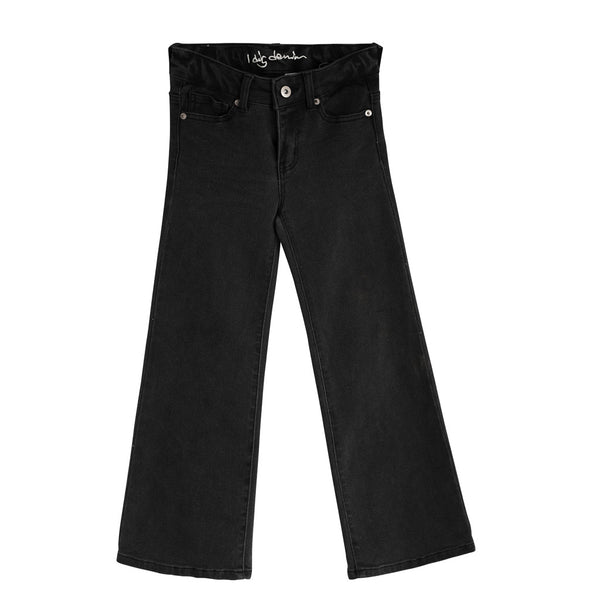 Harper Wide Jeans - Black