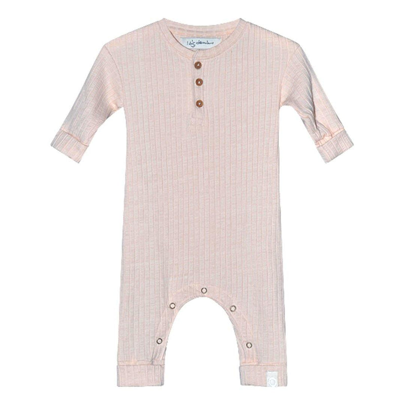 Bowie LS Jumpsuit Organic - Pink - Tim and Gerry's Sydney