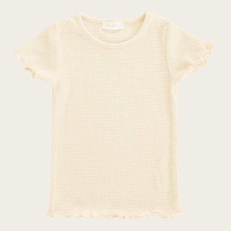 Lily Tee - Pear Stripe