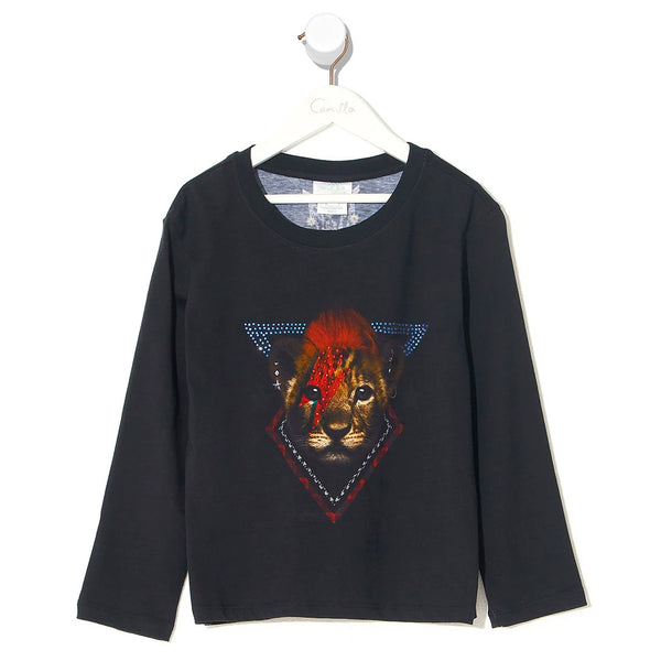 Kids Long Sleeve Top - London Calling