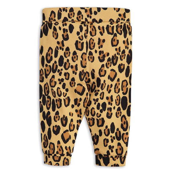 Basic Leopard Newborn Leggings - Beige - Tim and Gerry's Sydney