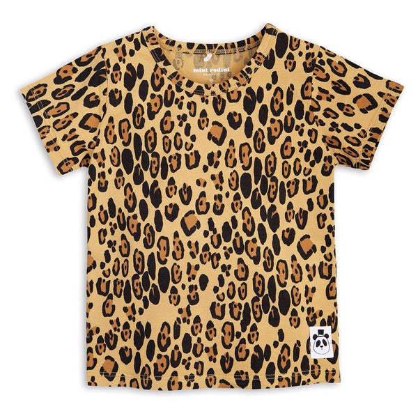Basic Leopard SS Tee - Beige - Tim and Gerry's Sydney