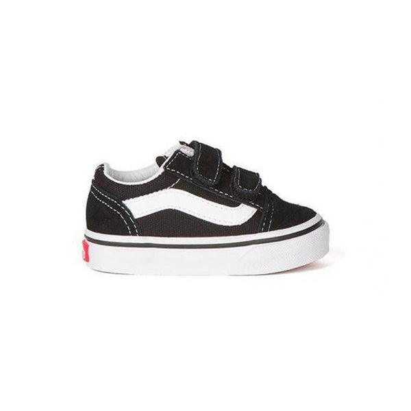 Old Skool Velcro Toddler - Black