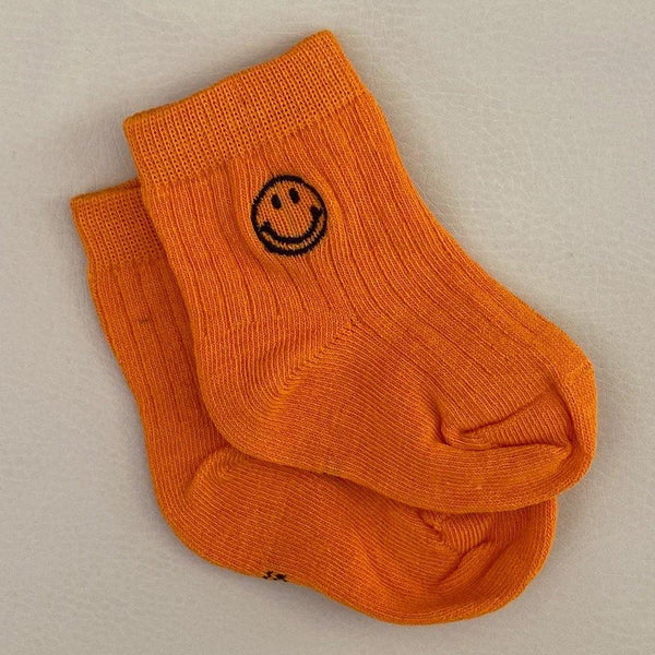 Face Socks - Orange
