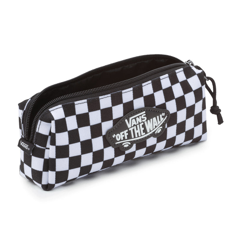 Kids OTW Pencil Pouch (8-14+ Years) - Black/White Check